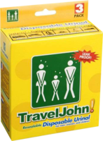 TRAVEL JOHN Wegwerf-Urinal