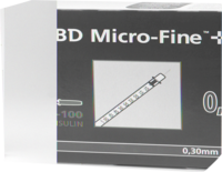 BD MICRO-FINE+ Insulinspr.0,5 ml U100 8 mm