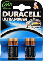 DURACELL Ultra Power AAA (MN2400/LR03)K4 m.Powerch