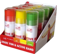 SISSEL Fun & Active Band 12er Set 4Stück/Farbe