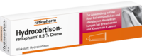 HYDROCORTISON ratiopharm 0,5% Creme