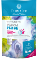 DERMASEL Totes Meer Badesalz+Peace limited edition