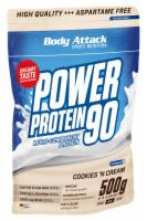 POWER PROTEIN 90 Cookies'n Cream Pulver